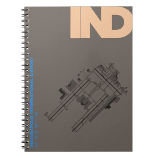 Indianapolis Airport (IND) Diagram Notebook