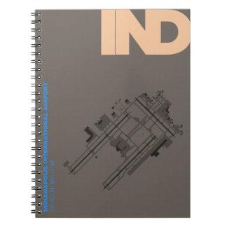 Indianapolis Airport (IND) Diagram Notebook