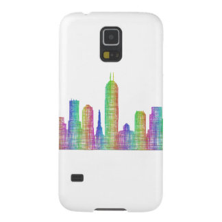 Indianapolis city skyline galaxy s5 cover