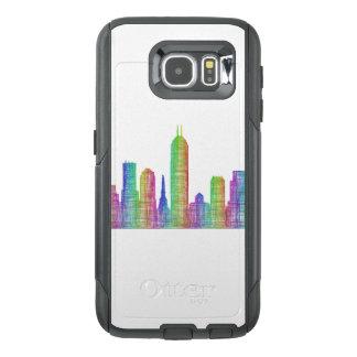 Indianapolis city skyline OtterBox samsung galaxy s6 case