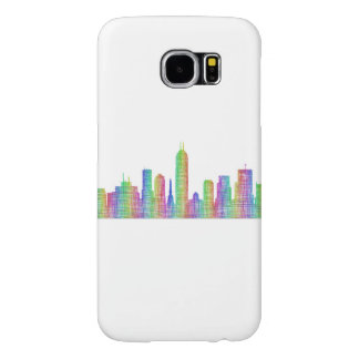 Indianapolis city skyline samsung galaxy s6 cases