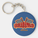 Indianapolis Flagged Keychains