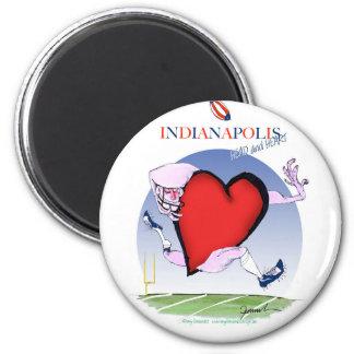 indianapolis head heart, tony fernandes magnet