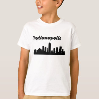 Indianapolis IN Skyline T-Shirt