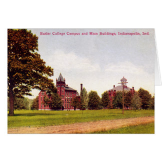 Indianapolis, Indiana Butler College Campus Card