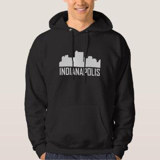 Indianapolis Indiana City Skyline Hoodie