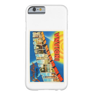 Indianapolis Indiana IN Vintage Travel Souvenir Barely There iPhone 6 Case