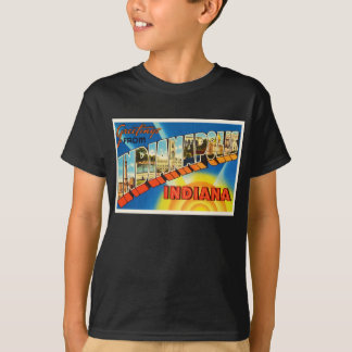 Indianapolis Indiana IN Vintage Travel Souvenir T-Shirt