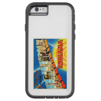 Indianapolis Indiana IN Vintage Travel Souvenir Tough Xtreme iPhone 6 Case
