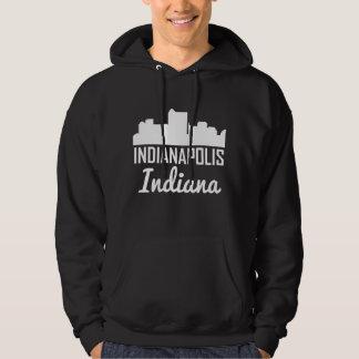 Indianapolis Indiana Skyline Hoodie