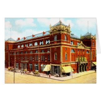 Indianapolis, Indiana Tomlinson Hall Card