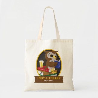 Indianapolis Literary Pub Crawl - Bags! Tote Bag
