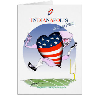 indianapolis loud and proud, tony fernandes card