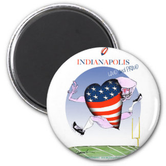 indianapolis loud and proud, tony fernandes magnet