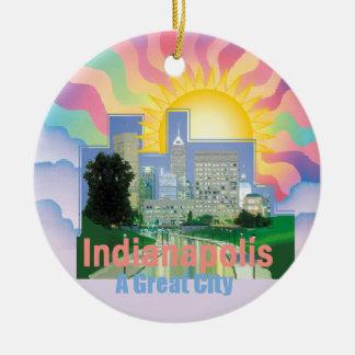 INDIANAPOLIS Ornament