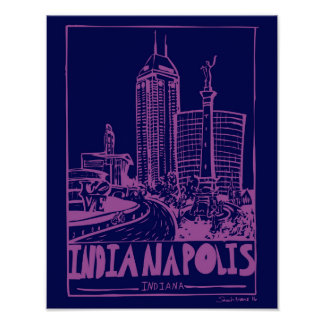 Indianapolis Poster