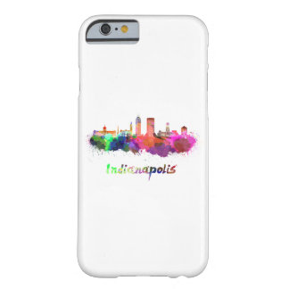 Indianapolis skyline in watercolor barely there iPhone 6 case