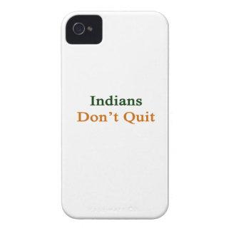 Indians Don't Quit iPhone 4 Case