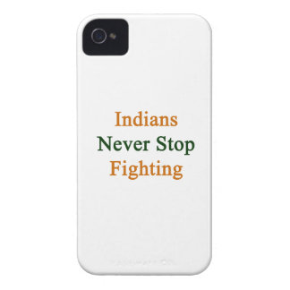 Indians Never Stop Fighting iPhone 4 Covers
