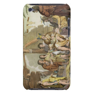 Indians trading with La Perouse in Canada (colour Barely There iPod Case
