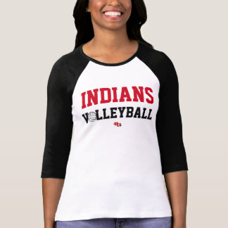Indians Volleyball Pride Wear (Women's) T-Shirt