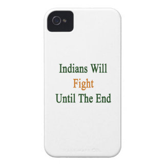 Indians Will Fight Until The End iPhone 4 Covers