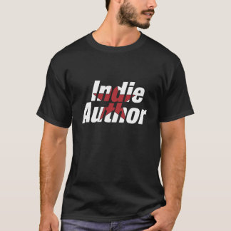 Indie Author T-Shirt Men's (light logo)