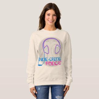 Indie-Credible Podcast Sweatshirt Women's