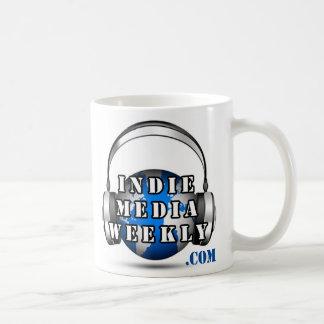Indie Media Weekly logo mug