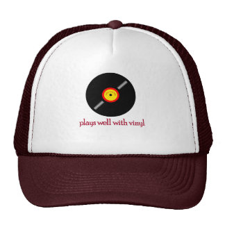 Indie Rock Back Trucker Hat