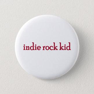 Indie Rock Kid 2 Inch Round Button
