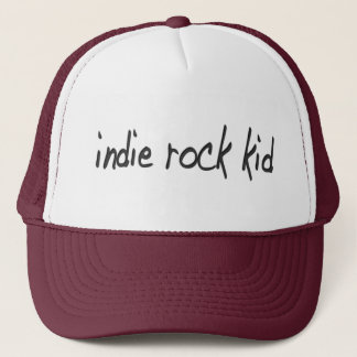 Indie Rock Trucker Hat