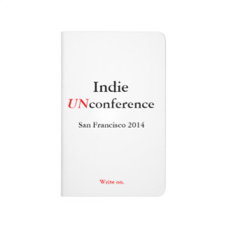 Indie UnConference Pocket Journal - Write on.