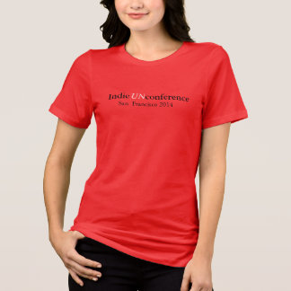 Indie UnConference Women's Bella Jersey T-shirt