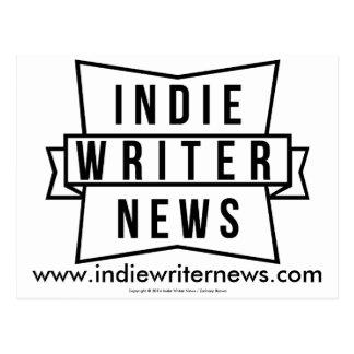 Indie Writer News Postcard