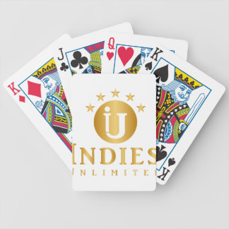 Indies Unlimited 5-Star Logo Bicycle Playing Cards