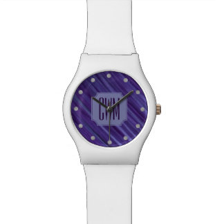 Indifferent Bling | Monogram Purple Violet Lilac | Watch