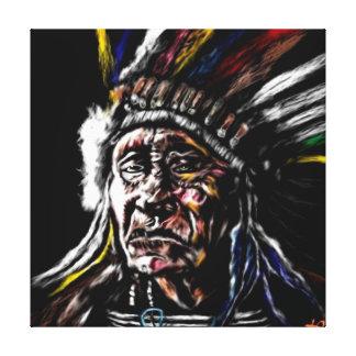 Indigenous Canvas Print