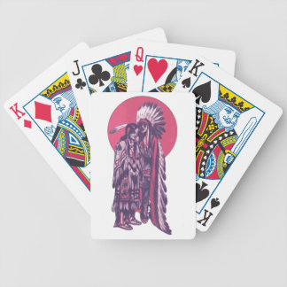 Indigenous Rez Love Bicycle Playing Cards