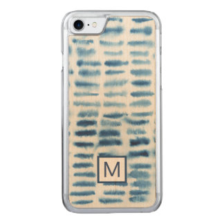 Indigio Watercolor Print Carved iPhone 7 Case