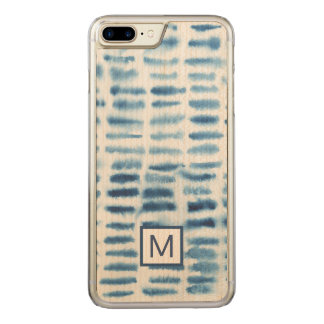 Indigio Watercolor Print Carved iPhone 7 Plus Case