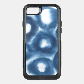Indigio Watercolor Print Circles OtterBox Commuter iPhone 7 Case