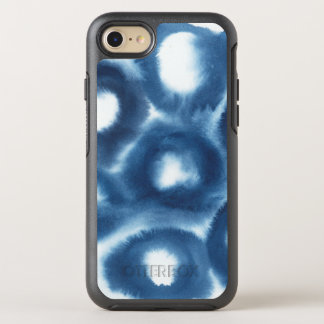 Indigio Watercolor Print Circles OtterBox Symmetry iPhone 8/7 Case