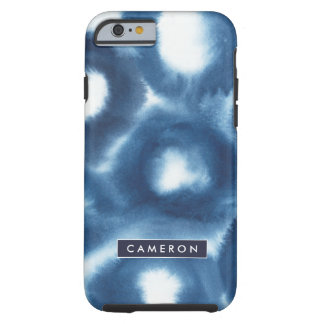 Indigio Watercolor Print Circles Tough iPhone 6 Case