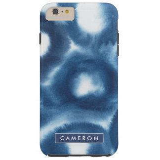 Indigio Watercolor Print Circles Tough iPhone 6 Plus Case