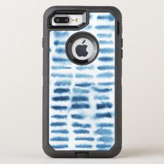 Indigio Watercolor Print OtterBox Defender iPhone 7 Plus Case