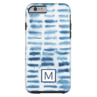 Indigio Watercolor Print Tough iPhone 6 Case