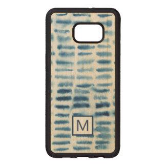 Indigio Watercolor Print Wood Samsung Galaxy S6 Edge Case