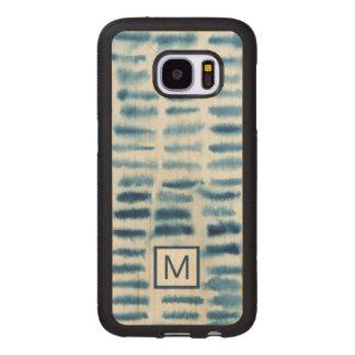 Indigio Watercolor Print Wood Samsung Galaxy S7 Case