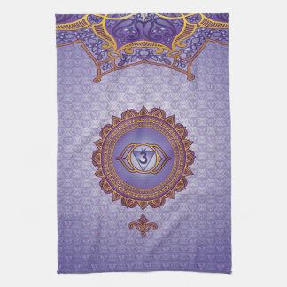 Indigo, Ajna 6th Chakra Kitchen Towel